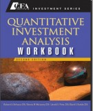 Ebook Quantitative investment analysis workbook (2nd edition): Part 1