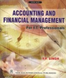 Ebook Accounting and financial management: Part 1