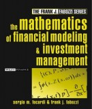 the mathematics of financial modeling and investment management: part 1