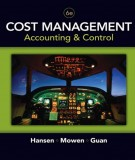 Ebook Cost management accounting and control (6th edition): Part 1