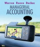 Ebook Managerial accounting (10th edition): Part 1
