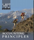 Ebook Accounting principles (10th edition): Part 1