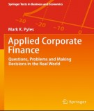 Ebook Applied corporate finance: Part 2