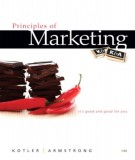 Ebook Principles of marketing: Part 1