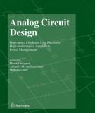 Ebook Analog circuit design: Part 2