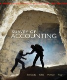 Ebook Survey of accounting (3rd edition): Part 1