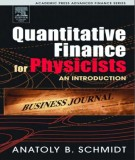 quantitative finance for physicists an introduction: part 1