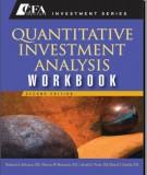 Ebook Quantitative investment analysis workbook (2nd edition): Part 2