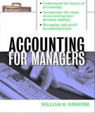 Ebook Accounting for management: Part 2