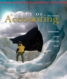 Ebook Survey of accounting (2nd edition): Part 1
