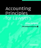 Ebook Accounting principles for lawyers: Part 1