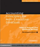 Ebook Accounting principles for non executive directors: Part 1