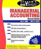 Ebook Theory and problems of managerial accounting (2nd edition): Part 2