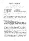 Bài thu hoạch kết quả học tập, quán triệt Nghị quyết Hội nghị lần 4 Ban Chấp hành Trung ương khóa XII