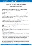 Giải bài tập Vùng Tây Nguyên (Tiếp theo) SGK Địa lí 9