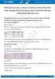 Giải bài tập Thực hành: Vẽ và phân tích biểu đồ về tình hình sản xuất của ngành thủy sản ở Đồng bằng sông Cửu Long SGK Địa lí 9
