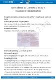 Giải bài tập Vùng Trung du và miền núi Bắc Bộ SGK Địa lí 9