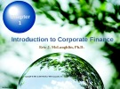 Lecture Chapter 1: Introduction to Corporate Finance