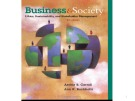 Lecture Business and society - Chapter 4: Corporate Governance: Foundational Issues
