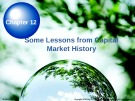 Lecture Chapter 12: Some Lessons from Capital Market History