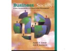 Lecture Business and society - Chapter 2: Corporate Citizenship: Social Responsibility,  Responsiveness, and Performance