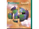 Lecture Business and society - Chapter 16: Business and Community Stakeholders