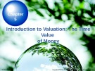 Lecture Chapter 5: Introduction to Valuation: The Time Value of Money