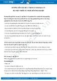 Giải bài tập Sự phát triển và phân bố nông nghiệp SGK Địa lí 9