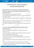 Giải bài tập Vùng Đông Nam Bộ (tiếp theo) SGK Địa lí 9