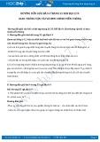 Giải bài tập Giao thông vận tải và bưu chính viễn thông SGK Địa lí 9