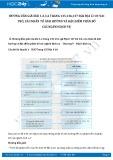 Giải bài tập Vai trò, các nhân tố ảnh hưởng và đặc điểm phân bố các ngành dịch vụ SGK Địa lí 10