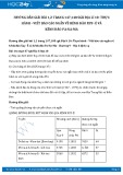 Giải bài tập Thực hành - Viết báo cáo ngắn về kênh đào Xuy- Ê và kênh đào Pa-Na-Ma SGK Địa lí 10