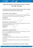 Giải bài tập Sóng - thuỷ triều - dòng biển SGK Địa lí 10