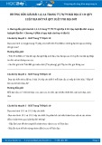 Giải bài tập Quy luật địa đới và quy luật phi địa đới SGK Địa lí 10