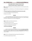 Trắc nghiệm Kinh tế vĩ mô - Chương 1: Khái quát về kinh tế vĩ mô (có đáp án)