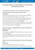 Giải bài tập Một số vấn đề mang tính chất toàn cầu SGK Địa lí 11