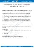 Giải bài tập Hợp chủng quốc Hoa Kì – kinh tế SGK Địa lí 11