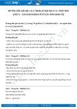Giải bài tập Nhật Bản - Các ngành kinh tế và các vùng kinh tế SGK Địa lí 11