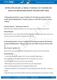 Giải bài tập Tác động của ngoại lực đến địa hình bề mặt trái đất (tiếp theo) SGK Địa lí 10