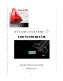 Autocad thực tế cho người đi làm - Kỹ sư Lê Văn Minh