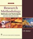 Ebook Research methodology - Methods and techniques (2nd edition): Part 1