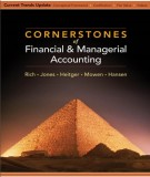 Ebook Cornerstones of financial & managerial accounting: Part 2
