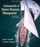 fundamentals of human resource management (10th edition): part 1