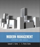 Ebook Modern management (12th edition): Part 1