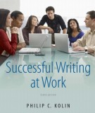 successful writing at work (10th edition): part 1