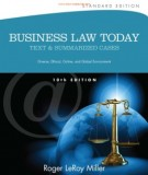 Ebook Business law today (10E): Part 1