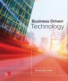 Ebook Business driven technology (7th edition): Part 1