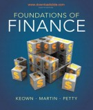 foundations of finance - the logic and practice of financial management (8th edition): part 1