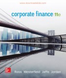 Ebook Corporate finance (11th edition): Part 2