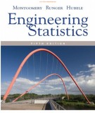 Ebook Engineering statistics (5th edition): Part 1
